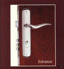 Entrance  Lock & Lever Handle set ( Satin Nickel )