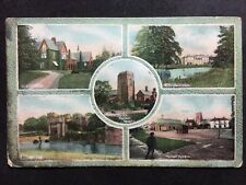 RP Vintage Postcard - Lincolnshire #28 - Market Raisen Multi View - Jay Em Jay