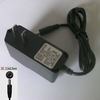 NEW 12V 700mA-1000mA 0.7A-1A AC DC Adapter Charger Power Supply Cord 5.5mmx2.5mm