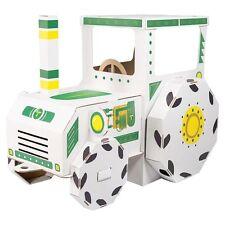 Casa cartone per bambini Trattore da dipingere gioco dim 123x69x90