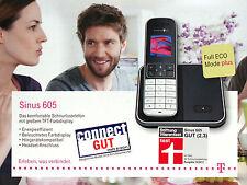T-Home Sinus 605 Schnurloses Telefon Farbdisplay Neu v. Händler Deutsche Telekom