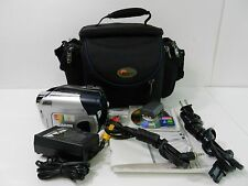 Canon Dc310 Dvd Camcorder, Battery Dvd Memory Card Manual Cable Charger Bundle