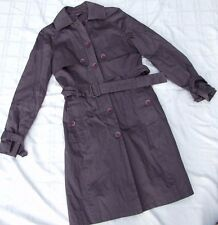 OJAY COAT JACKET SIZE 10 LIKE NEW TRENCH GREY CITY BUSINESS