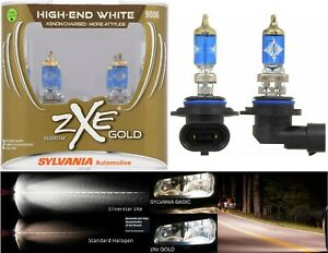 Sylvania Silverstar ZXE Gold 9006 HB4 55W Two Bulbs Fog Light Replace Upgrade OE