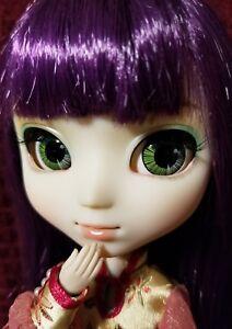 Pullip Xiao Fan Doll Jun Planning Groove 2008 Chinese Dress Purple Hair