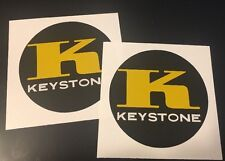 "Keystone Minibike Decals For 1960's 1970's 2"" Set 2"
