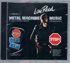 LOU REED METAL MACHINE MUSIC  CD FUORI CATALOGO NUOVO SIGILLATO!!!