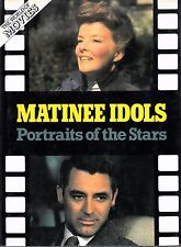 MATINEE IDOLS: PORTRAITS OF THE STARS (1982) 58 Full Page Photos - Monroe, Elvis