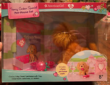 American Girl Fancy Cocker Spaniel Pet-House, Activity Book, You Color House New