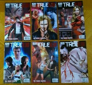"""True Blood: French Quarter (IDW,2011) 1,2,3,4,5,6 Complete """"A"""" Set in NM"""