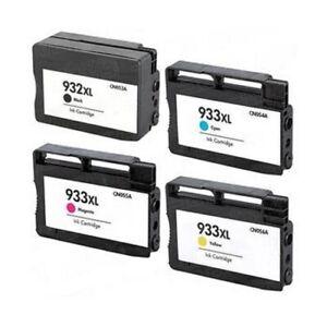 Full Set 932XL, 933XL Ink Cartridges For HP Officejet 6600 7110 7510 7610 7612