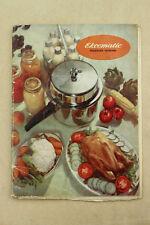 Vintage 1950s Booklet Instruction Manual for EKCOMATIC Pressure Cooker Recipes