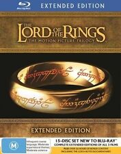 Lord Of The Rings Trilogy Extended Ed Blu-ray Complete - Australian Ed. - Sealed