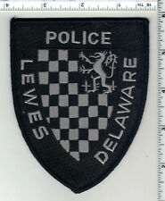 Lewes Police (Delaware) 1st Issue Subdued Shoulder Patch