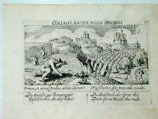 Ludwigstein Hessen Kupferstich Meisner Schatzkästlein Ameisen Heuschrecken 1630