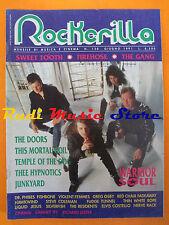 rivista ROCKERILLA 130/1991 Warrior Soul This Mortal Coil Doors Hawkwind  NO cd