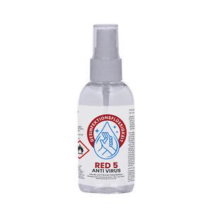 100 ml Desinfektionsmittel Schnelldesinfektion Händedesinfektion Taschenflasche