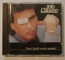 CD - Toto Cutugno - Non È Facile Essere Uomini - EMI