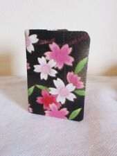 Cherry Blossom Card/Ticket Holder sakura style japonais en tissu de coton