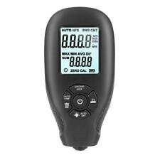 Digital Mil Thickness Meter Paint Coating Thickness Gauge With Backlight Lcd Black