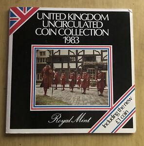 1983 United Kingdom Brilliant Uncirculated 8 Coin Set