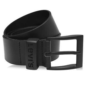 Mens Levis Leather Belt New