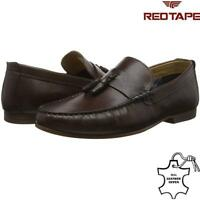 Mens Leather Loafers Slip On Mocassins Designer Smart Formal Wedding Shoes Size