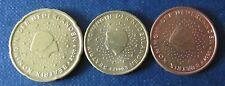 5, 10 + 20 cent moneta da Paesi Bassi memorizzare anno 2000 circolazione pezzi da collezione