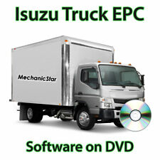 Isuzu Truck, Bus, Engine Global Parts Catalog EPC DVD [2015]