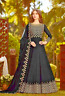 Georgette  SALWAR  KAMEEZ embroidered Long DRESS pakistani indian Now £30