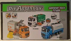 Sanitation Truck Series DIY Assembly Replacement Tool Set Truck Team