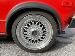 x4 BBS style split rim wheels and tyres - excellect condition.