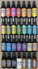 Tim Holtz DISTRESS SPRAY STAIN ink SET OF 28 Ranger DSS28