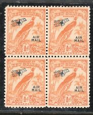 NEW GUINEA SG 190 BLOCK OF 4 MUH