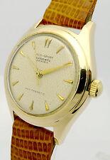 LACO -SPORT 14ct GOLD HERREN AUTOMATIK ARMBANDUHR - KLASSIKER AUS DEN 1970er J.