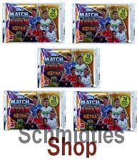 MATCH ATTAX EXTRA - 5 Booster Tüten- Saison 2015/16