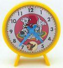 Vintage TM Modern Toys Japan 101 Dalmatians Disney Toy Clock in Original Box