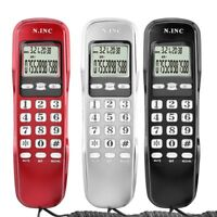 Wall Landline Caller ID Corded Home Phone Telephone LCD Display Mount Landline