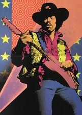Blacklight Vintage Poster Jimi Hendrix Psychedelic pin-up Sinclair Arminski