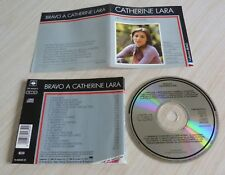 RARE CD BEST OF COLLECTION BRAVO CATHERINE LARA 20 TITRES 1988