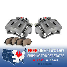 Rear Brake Calipers & Pads For 2000 2001 2002 2003 2004 Ford Excursion F250 F350