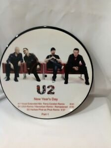 U2 – New Year's Day -  Part 1, Picture Disc,Unofficial Release.