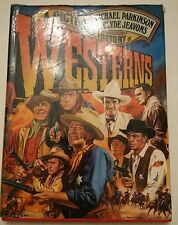 """016 A Pictorial History of Westerns"""" Parkinson/Clyde Jeavons w/Dust Jacket Book"""