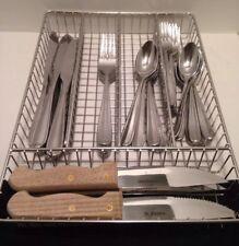 Oneida Stainless Dylan  Soups, Salad Forks, Dinner Forks, Knives  39 Pieces