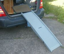 Dog Car Ramp. Folds into small suitcase size. Very light & takes up little room.