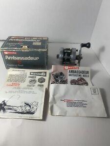 Vintage ABU Garcia 4500C ambassadeur casting reel  W/ Box & Papers Sweden