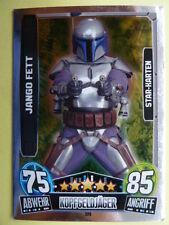 Force Attax Star Wars Serie 3 (2013 rot), Jango Fett (223), Star-Karten