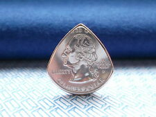 Genuine U S A. quarter Dollar coin pick / Plectrum.WORLD WIDE FREE POST.UNIQUE