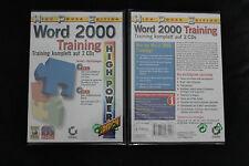 Word 2000 Training (PC) nuevo & OVP
