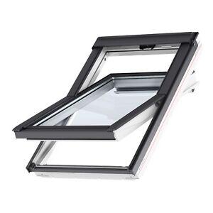 Velux Dachfenster Kunststoff Thermo Schwingfenster GGU GLU + Solar Rollladen SSL